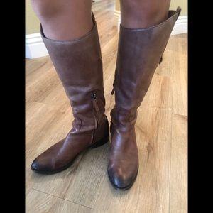 San Edelman leather boots